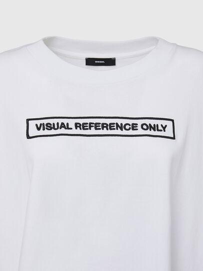 Diesel - T-CRAMBLE, White - T-Shirts - Image 3