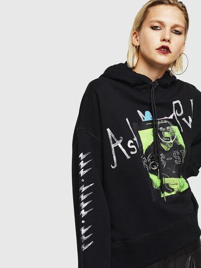 Diesel - F-MAGGY, Black - Sweaters - Image 3