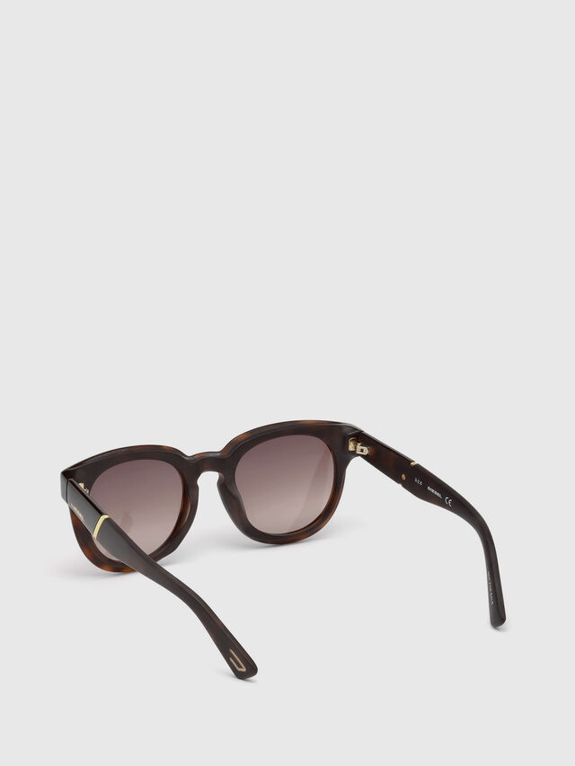 Diesel - DL0230, Brown/Black - Sunglasses - Image 2