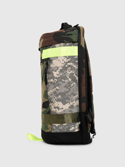 Diesel - PIEVE, Green Camouflage - Backpacks - Image 3