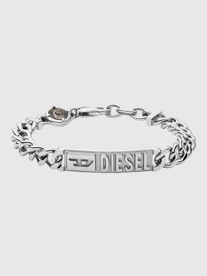 Diesel - DX1225, Silver - Bracelets - Image 1