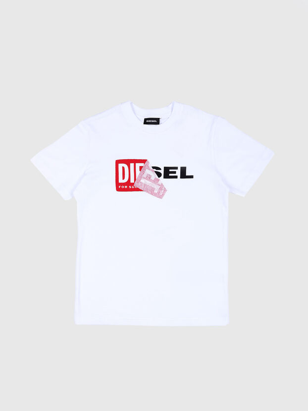 TDIEGO, White/Red - T-shirts and Tops