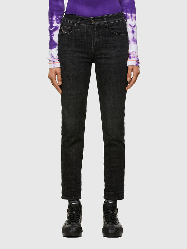 D-Joy 009JV, Black/Dark grey - Jeans