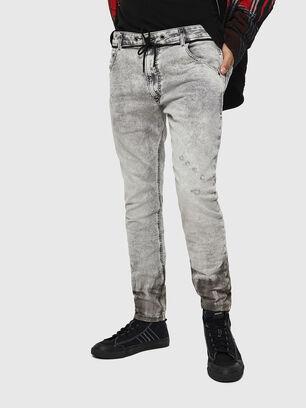 Krooley JoggJeans 0091H, Light Grey - Jeans