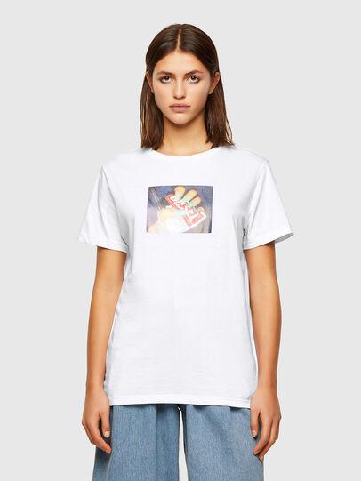 Diesel - T-DARIA-R3, White - T-Shirts - Image 1