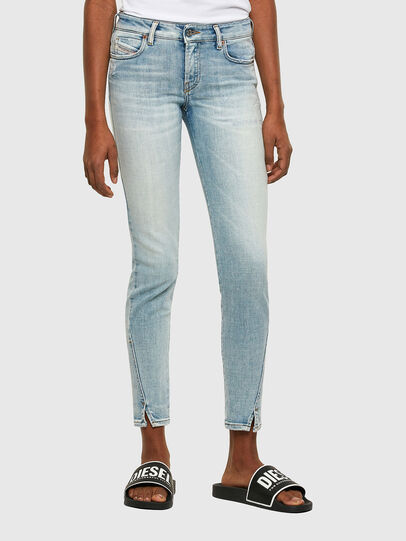 Diesel - D-Jevel 009PQ, Light Blue - Jeans - Image 1