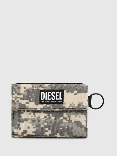 Diesel - YOSHI, Grey - Small Wallets - Image 1
