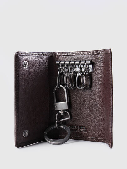 Diesel - KEYCASE O, Brown - Bijoux and Gadgets - Image 4