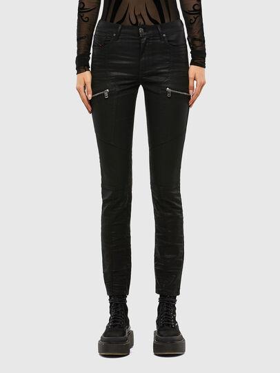 Diesel - D-Ollies JoggJeans 069RK, Black/Dark grey - Jeans - Image 1