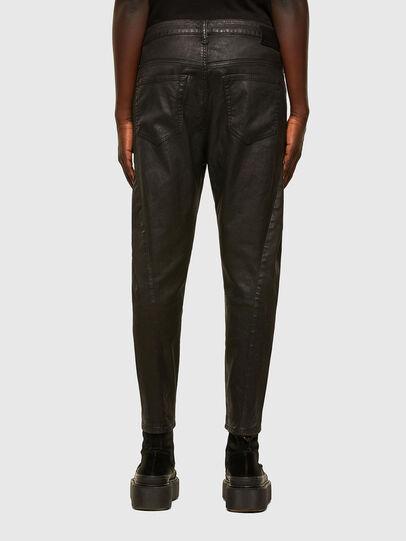 Diesel - FAYZA JoggJeans® 069PG, Black/Orange - Jeans - Image 2