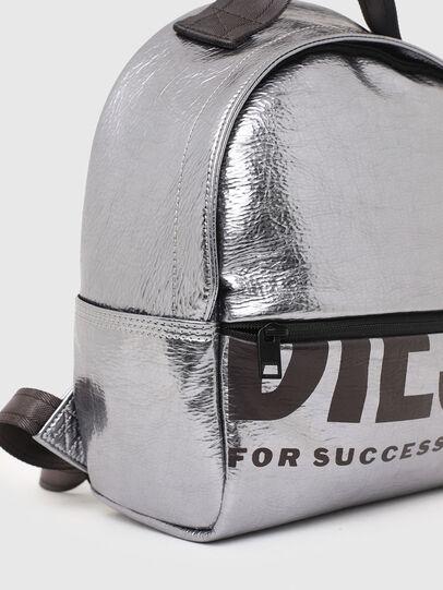 Diesel - F-BOLD BACK FL II, Silver - Backpacks - Image 6