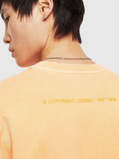 Diesel - S-BIAY-FLUO, Orange - Sweaters - Image 7