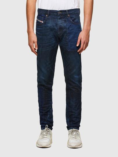 Diesel - D-Strukt JoggJeans® 069TY, Dark Blue - Jeans - Image 1