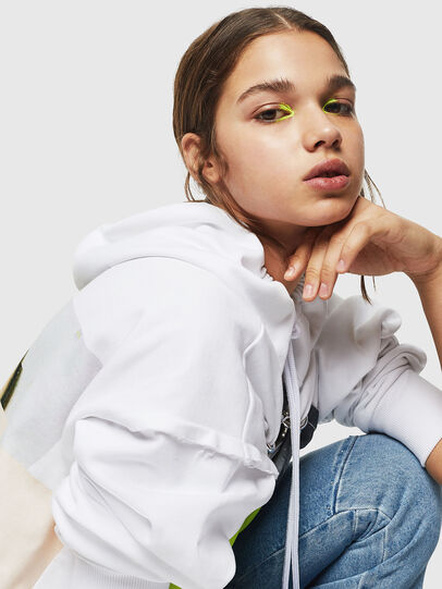 Diesel - F-ALBYHOOK, White - Sweaters - Image 3