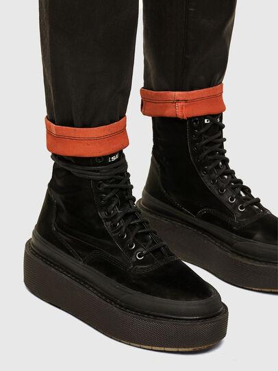 Diesel - FAYZA JoggJeans® 069PG, Black/Orange - Jeans - Image 5