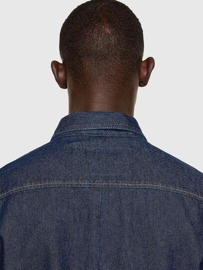 Diesel - D-RAPP, Dark Blue - Denim Shirts - Image 4