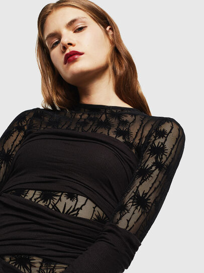 Diesel - D-LARY, Black - Dresses - Image 3