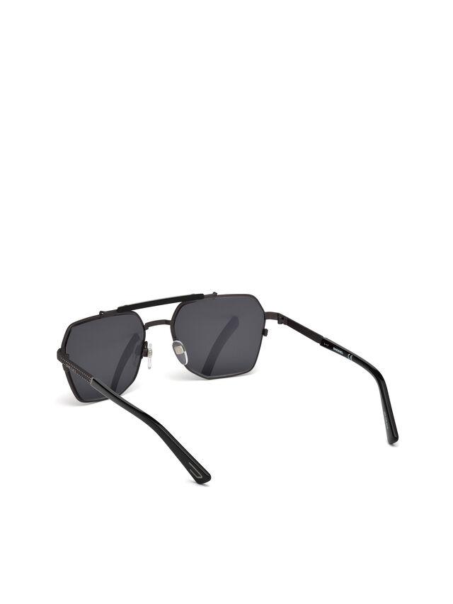 Diesel DL0256, Black - Eyewear - Image 4