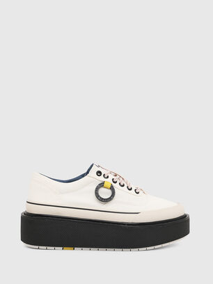 H-SCIROCCO LOW, White/Pink - Sneakers