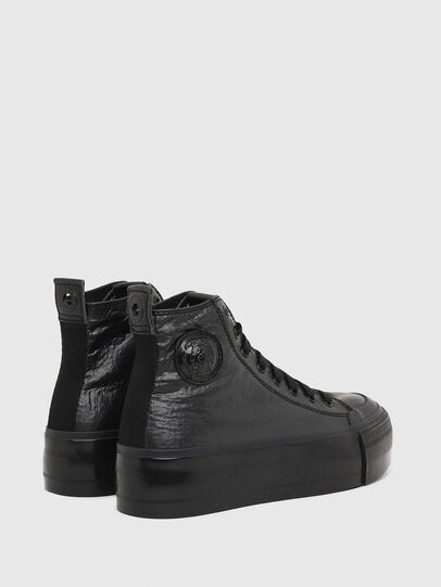 Diesel - S-ASTICO MC WEDGE, Black - Sneakers - Image 3