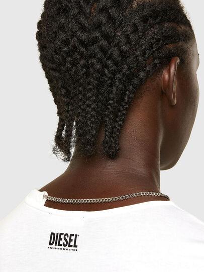 Diesel - T-CHAIN, White - T-Shirts - Image 4