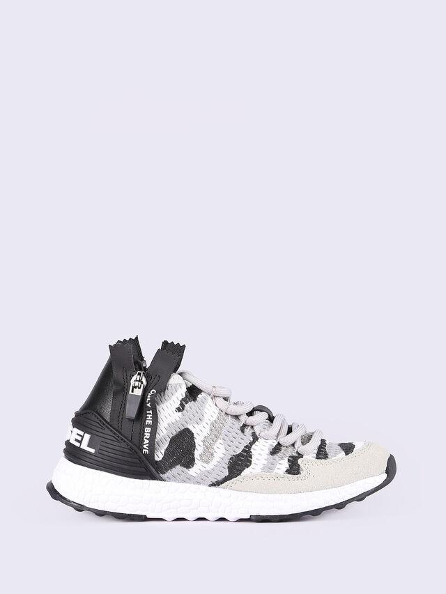 SN MID 36 S-K ZIP YO, Grey/White