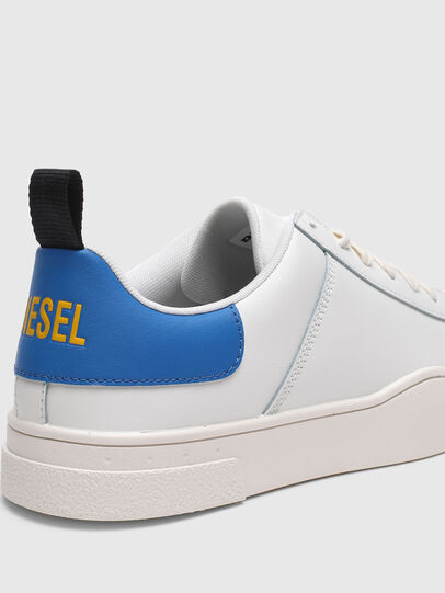 Diesel - S-CLEVER LOW LACE, White/Blue - Sneakers - Image 4