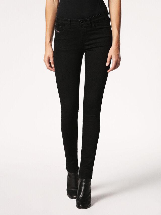 SKINZEE 0813E, Black Jeans