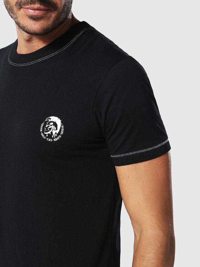 Diesel - UMLT-JAKE, Black - T-Shirts - Image 3