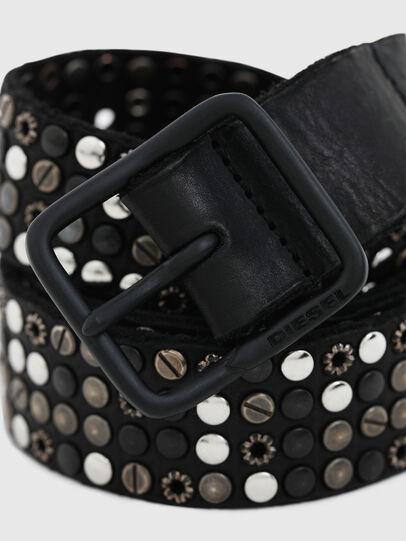 Diesel - B-GIO, Black - Belts - Image 2