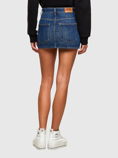 Diesel - DE-EISY, Medium blue - Skirts - Image 2