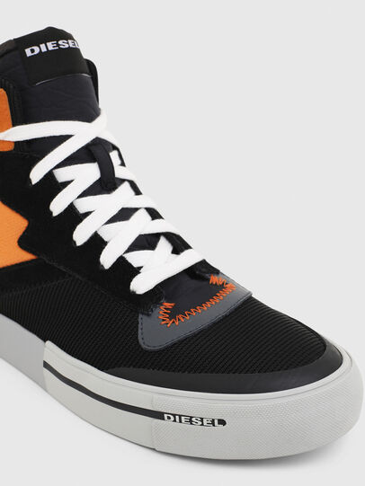 Diesel - S-DESE MS, Black/Orange - Sneakers - Image 4