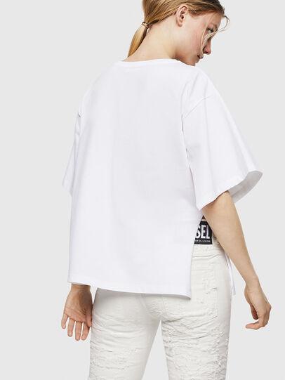 Diesel - T-JACKY-I, Cream - T-Shirts - Image 2