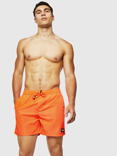 Diesel - BMBX-CAYBAY, Orange - Swim shorts - Image 1