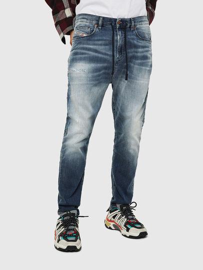 Diesel - D-Vider JoggJeans 069IP, Medium blue - Jeans - Image 1
