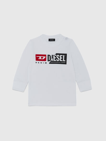 Diesel - TDIEGOCUTYB ML-R, White - T-shirts and Tops - Image 1