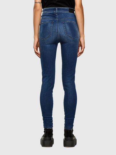 Diesel - Slandy High 009FE, Dark Blue - Jeans - Image 2
