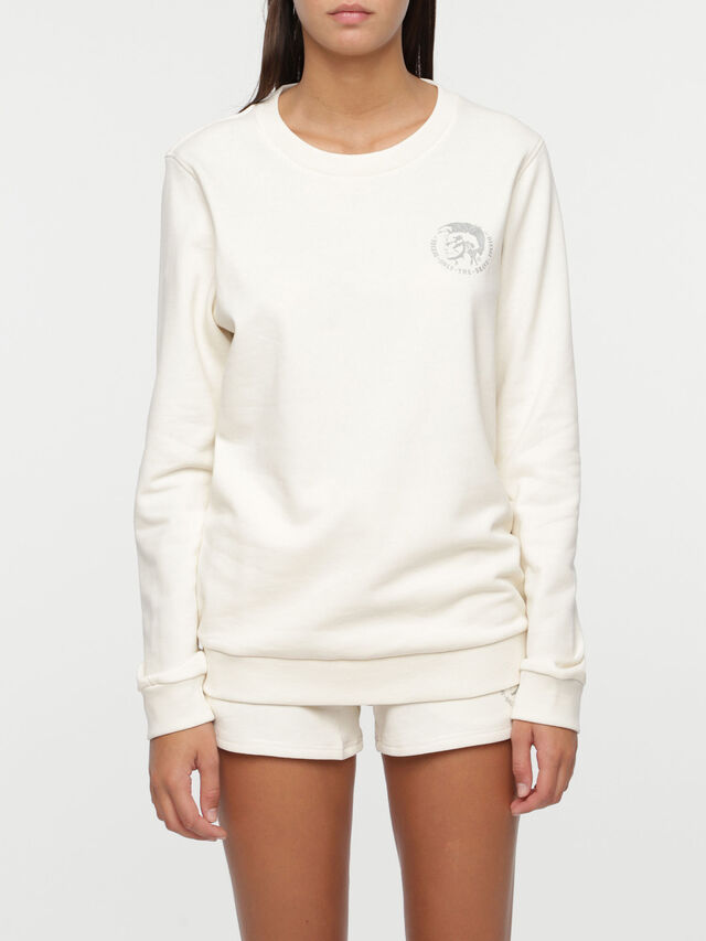 Diesel - UFLT-WILLA, White - Sweaters - Image 1