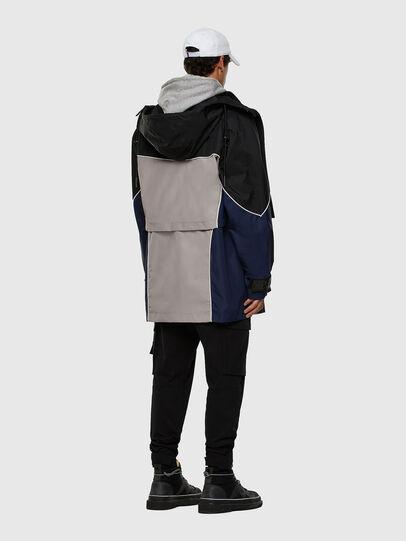 Diesel - W-KOON, Blue/Grey - Winter Jackets - Image 8