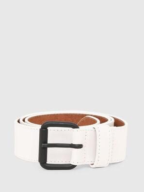 B-TRACY, White - Belts