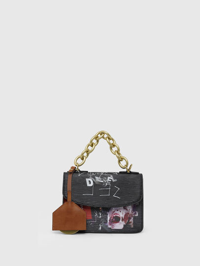 Diesel - ORMELLE MC, Black/Green - Crossbody Bags - Image 1