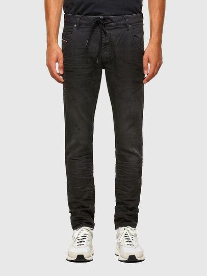 Diesel - Krooley JoggJeans 069QL, Black/Dark grey - Jeans - Image 1
