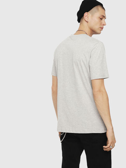 Diesel - T-JUST-DIVISION, Light Grey - T-Shirts - Image 2