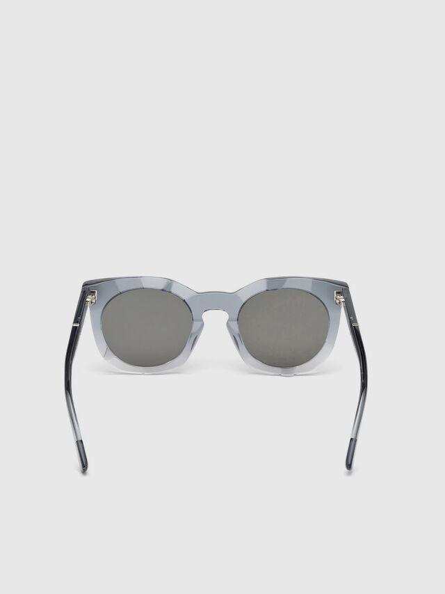 Diesel DL0270, Grey - Eyewear - Image 4