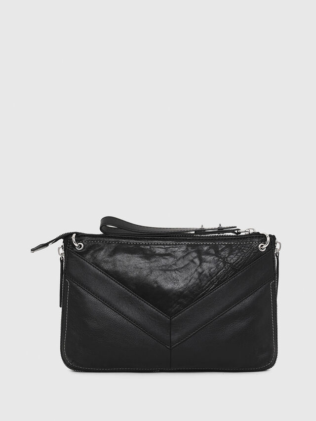 Diesel LE-LITTSYY, Black Leather - Clutches - Image 2