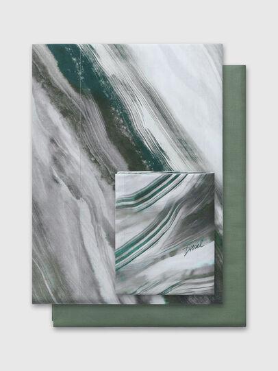 Diesel - 2003985 CLET WATER R, Grey/Green - Duvet Cover Set - Image 1