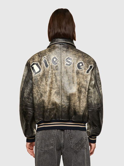 Diesel - DxD-2, Black - Leather jackets - Image 5