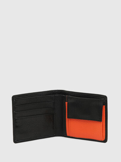 Diesel - HIRESH S, Black/Orange - Small Wallets - Image 3