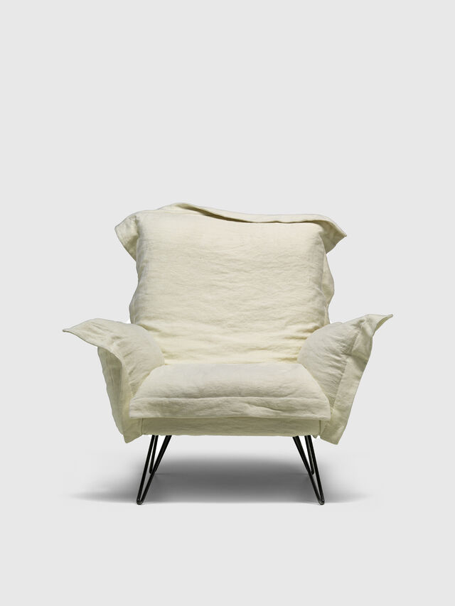 Diesel - DL0F55 CLOUDSCAPE, White - Armchairs - Image 1