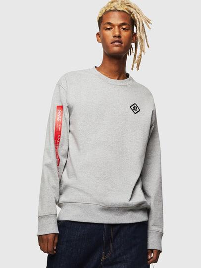 Diesel - CC-S-BAY-COLA, Grey - Sweaters - Image 1